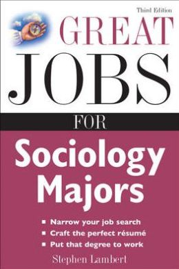Great Jobs For Sociology Majors
