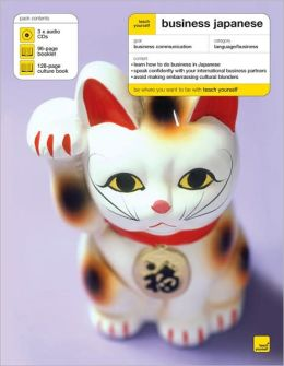 Teach Yourself Business Japanese ( 3CD's + Guide)
