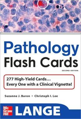Lange High Yield Pathology Flash Cards