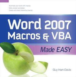 Word 2007 Macros and VBA