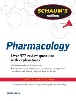 Schaum's Outline of Pharmacology