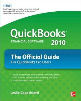 QuickBooks 2010 The Official Guide