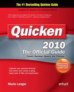 Quicken 2010 The Official Guide