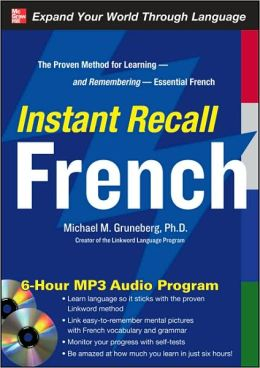 Instant Recall French, 6-Hour MP3 Audio Program