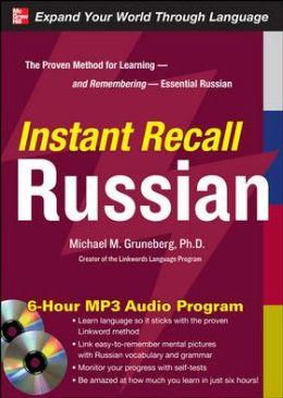 Instant Recall Russian, 6-Hour MP3 Audio Program