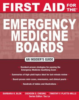 First Aid for the Emergency Medicine Boards