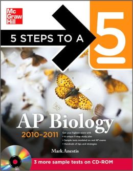 5 Steps to a 5 AP Biology with CD-ROM, 2010-2011 Edition