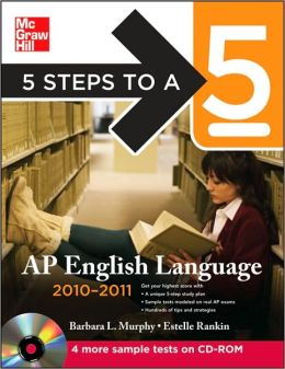5 Steps to a 5 AP English Language with CD-ROM, 2010-2011 Edition