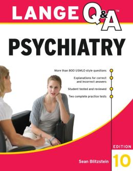 Lange Q&A Psychiatry, 10th Edition