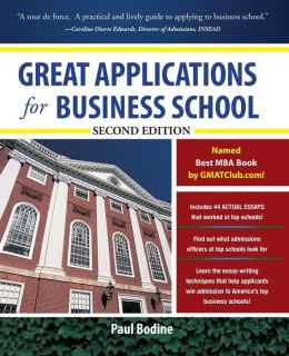 Great Applications for Business School