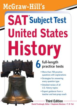 McGraw-Hill's SAT Subject Test United States History, 3rd Edition
