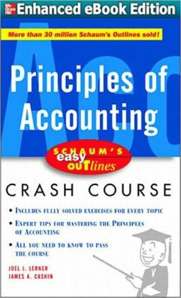 Schaum's Outline of Principles of Accounting I, Fifth Edition (Enhanced Edition)