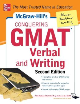 GMAT Verbal and Writing