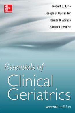 Essentials of Clinical Geriatrics 7/E