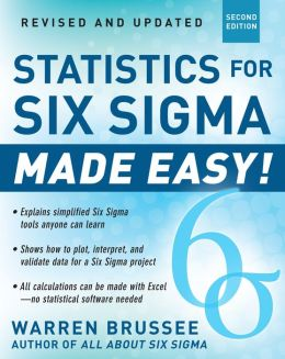 Statistics for Six Sigma Made Easy!