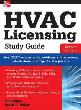 HVAC Licensing Study Guide, Second Edition