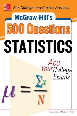 McGraw-Hill's 500 Statistics Questions