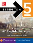 Book Cover Image. Title: 5 Steps to a 5 AP English Literature, 2014-2015 Edition, Author: Estelle Rankin