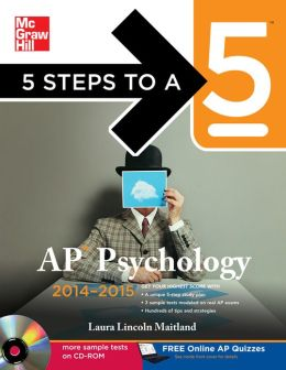 5 Steps to a 5 AP Psychology with CD-ROM, 2014-2015 Edition