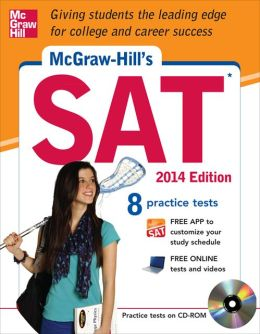 McGraw-Hill's SAT with CD-ROM, 2014 Edition