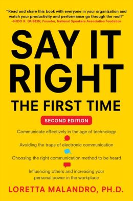 Say It Right the First Time, Second Edition