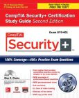 Book Cover Image. Title: CompTIA Security+ Certification Study Guide, Second Edition (Exam SY0-401), Author: Glen E. Clarke