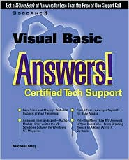 Visual Basic Answers!