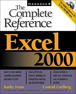 Excel 2000: The Complete Reference