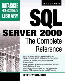 SQL Server 2000: The Complete Reference