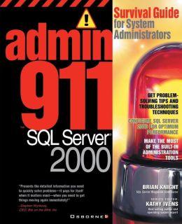 Admin911 Sql Server 2000