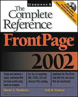 FrontPage 2002: The Complete Reference