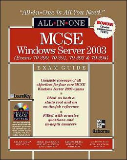 MCSE Windows Server 2003 All-in-One Exam Guide (70-290, 70-291, 70-293 & 70-294)