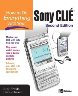 How To Do Everything With Your Sony Clie