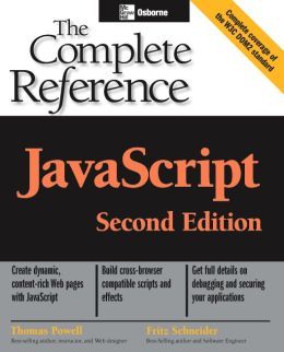 JavaScript: The Complete Reference, 2nd edition