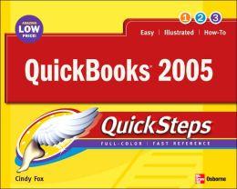 QuickBooks 2005 Quick Steps