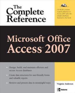 Microsoft Office Access 2007