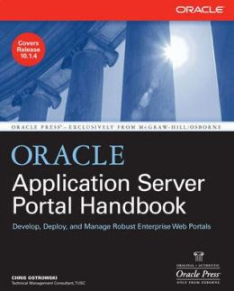 Oracle Application Server Portal Handbook