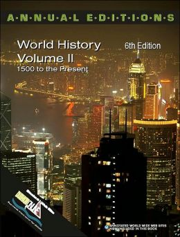 Annual Editions: World History,Volume 2