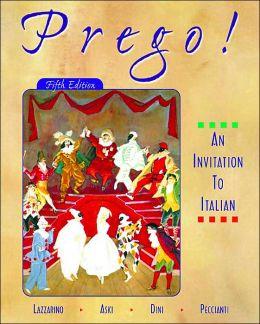 Prego! an Invitation to Italian (Student Edition + Listening Comprehension Audio CD)