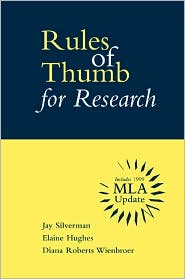 Rules of Thumb for Research with MLA Updates