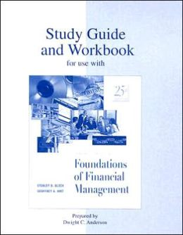 Study Guide/Workbook to Accompany Foundations of Financial Management