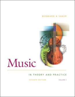 Music in Theory and Practice, Volume One, with Anthology CD
