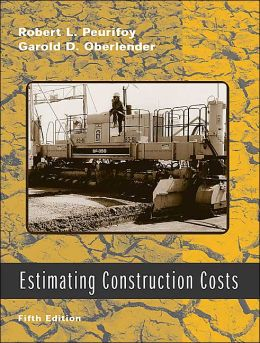 Estimating Construction Costs W/ CD-ROM