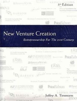 New Venture Creation with New Business Mentor 2002