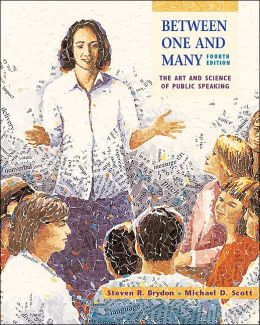 Between One and Many: The Art and Science of Public Speaking with Free Speech Coach Student CD-ROM