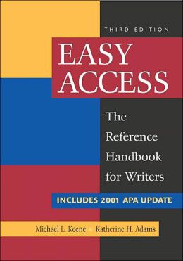 Easy Access with 2002 APA Update