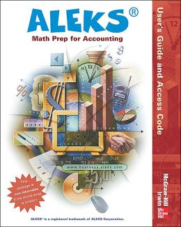 ALEKS for Math Prep for Accounting User's Guide and Access Code (Stand Alone)