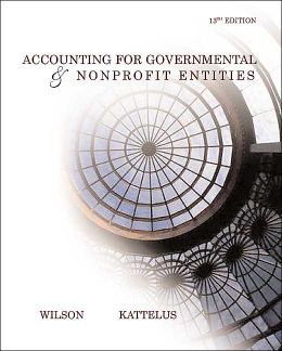 Accounting for Governmental and NonProfit Entities W/ City of Smithville