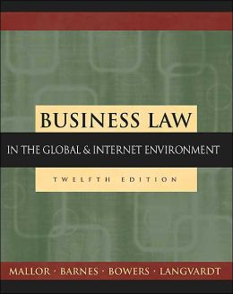 Business Law: The Ethical, Global, and E-Commerce Environment with Powerweb and Student Dvd