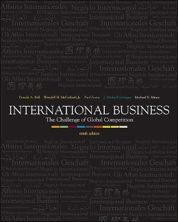 International Business: The Challenge of Global Competition with Powerweb, CD, and Cesim